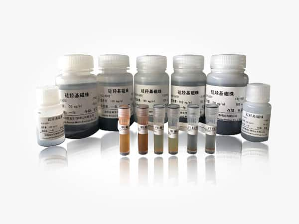 Perlas magnéticas carboxilo de extracción de ácido nucleico