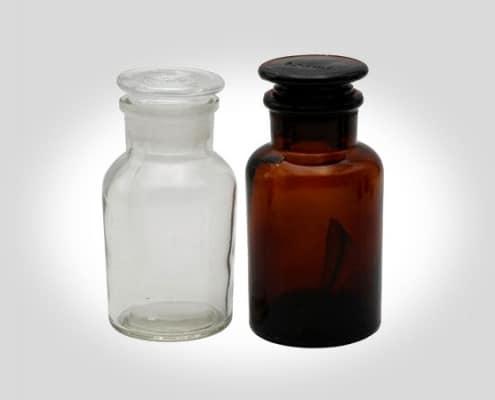 Botella de reactivo de boca ancha
