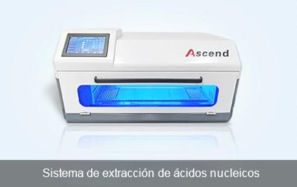 Sistema de extracción de ácidos nucleicos